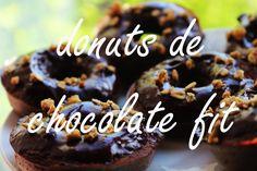 Donuts Saudáveis De Chocolate | Healthy Chocolate Donuts
