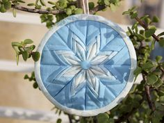 Not Only Quilts: Kind of a Tutorial - Fancy Folded Star Ornament