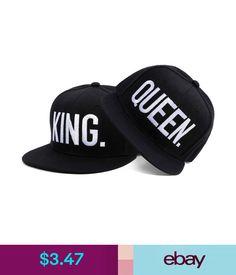 8e487bea0b2 King Queen Baseball Caps Adjustable Couple Hip Hop Snapback Hat Letter  Print Cap  ebay