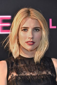"""Actress Emma Roberts attends the """"Nerve"""" New York Premiere at SVA Theater on July 12, 2016"""