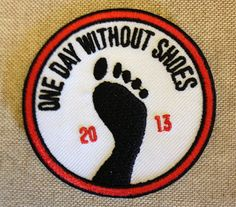 Any young student who gets involved in One Day #withoutshoes is eligible for a customized One Day Without Shoes patch (pictured above)! All you have to do is send his/her photo with their group on April 16th and email it with a mailing address to KidsforKids@TOMS.com. We'll happily send those your way! And now for the One Day Without Shoes DIY Toolkit for KIDS! // More info @ http://blog.toms.com/post/47036502837/kids-for-kids-on-one-day-without-shoes