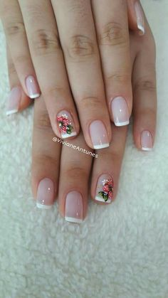 French Nails, My Nails, Curly Hair Styles, Nail Designs, Wallpaper, Beige Nails, Fairy, Designed Nails, Fingernails Painted
