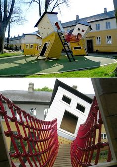 45 parchi giochi straordinari nel mondo: Brumleby Playground Copenhagen, Denmark