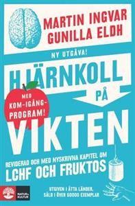 """""""Hjärnkoll på vikten"""" av Martin Ingvar, Gunilla Eldh Övervikten sitter i hjärnans belöningssystem där de osynliga krafterna som styr dina matvanor finns. Om man lär sig samarbeta med sin hjärna kommer kroppen inte att protestera när man byter vanor. Då bantar man med hjärnan istället för att köra huvudet i väggen."""