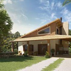 RESIDÊNCIA LITORAL - PINHAL / RS: Casas rústicas por daniel villela arquitetura