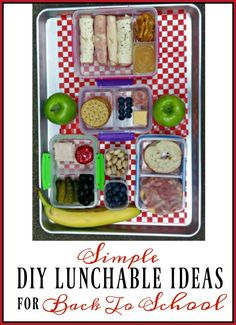 Simple DIY Lunchables for Back to School + Enter To Win $50 WinCo Gift Card #WinCoFoodsFuelforSchool