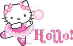 Hello Kitty ballerina PicturesCafe.com