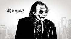 Why So Serious Joker Sketch, Why So Serious, Dark Knight, Are You Happy, Batman, Shirts, Artwork, Fictional Characters, Disc Golf