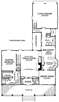 Coastal Homes Home Plans And Cottages On Pinterest