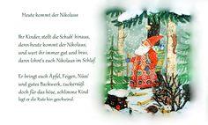 Nikolaus Gedicht Kindergarten Erzieherin Kita Kinder Winter Vorweihnachtszeit