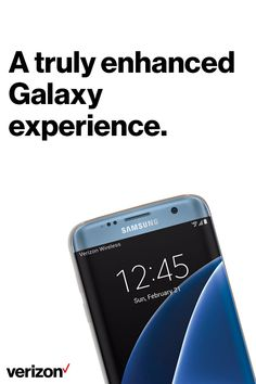The Samsung Galaxy S7 edge is the smartphone you'll want to brag about. It provides a bigger, more stunning screen without compromise. Get yours today on Verizon.