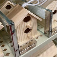 Retail Fixtures, Shelf Dividers, Hobby Lobby Store, Block Lettering, Bird Species, Glass Shelves, Fencing, Bird Houses, Clear Glass