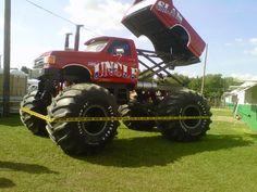 Old School Monster Trucks
