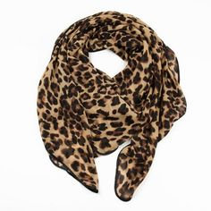 Cheap Fashion Leopard Print Infinity Scarf For Big Sale! Animal Print Fashion, Fashion Prints, Animal Prints, Leopard Print Scarf, Cheetah Print, Animal Print Scarf, Leopard Prints, Cute Scarfs, Brown Leopard