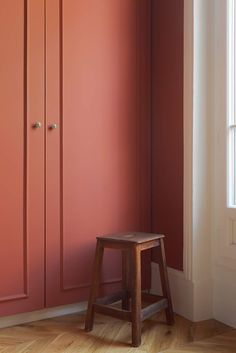 Farrow Ball, Interiores Design, Terracotta, Armoire, Tall Cabinet Storage, Living Spaces, New Homes, Bedroom, Painting