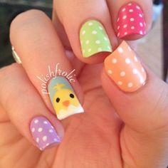 polishfrolic easter #nail #nails #nailart