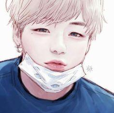 Wanna One - Daniel (Lol ik it's not a Anime or Manga. but this is Art damn) Kpop Fanart, Anime Kunst, Anime Art, Look Wallpaper, Bts Anime, Kpop Drawings, Fan Art, Bts Chibi, Korean Art