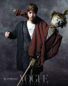 김현중 Vogue 한국, 2012년 2월 (Kim Hyun-Joong Vogue Korea, February 2012)