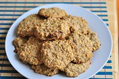 Ridiculously Healthy Banana Oatmeal Cookies