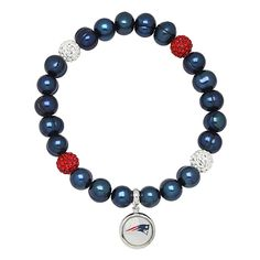 HONORA NFL New England Patriots Stretch Pearl