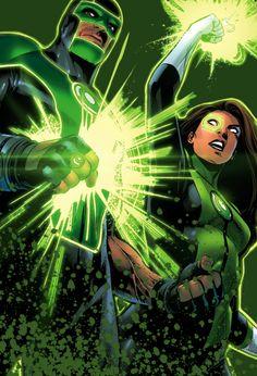 Simon Baz & Jessica Cruz in Green Lanterns #7