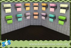 Towel Rack and Holder - LaLunaRossa and The Sims