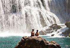 McCloud Falls in Northern California.
