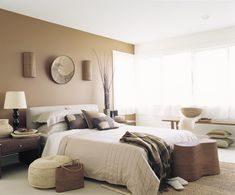 Neutral Colour Tones Help Create A Warm And Relaxing Atmosphere The