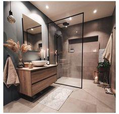 Home Room Design, Dream Home Design, Home Interior Design, Bathroom Design Luxury, Modern Bathroom Design, Modern Luxury Bathroom, Kitchen Design, Washroom Design, Minimal Bathroom