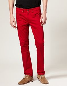 Farah Vintage The Wagner Slim Colored Jeans $101.56