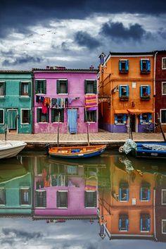 Burano, Venice, Italy.