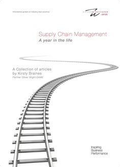 An insightful white paper on supply chain management from Oliver Wight. Written and designed by RONIN.