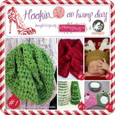 Hookin On Hump Day #61 - Link Party for the Fiber Arts