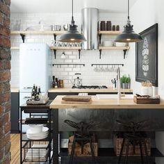 Trendy kitchen scandinavian style nordic design home Scandinavian Style Home, Scandinavian Interior Design, Interior Design Tips, Design Ideas, Nordic Design, Inexpensive Furniture, Cheap Furniture, Kitchen Furniture, Furniture Nyc