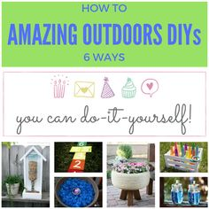 Keeping it Real: 6 amazing outdoor DIYs
