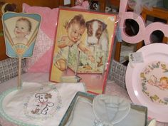love vintage baby stuff... Charlotte Becker puzzle~