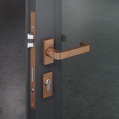 Chipperfield Türdrückergarnitur von FSB Plywood Suppliers, Fish Tank Design, Gate Handles, Aluminium Doors, Door Accessories, Bathroom Doors, Laque, Home Security Systems, Ceiling Design