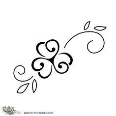 Tatuaggio di Trifoglio con triskell, Serenità duratura tattoo - TattooTribes.com