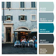 . Colour Pallete, Colour Schemes, World Of Color, Color Of Life, Room Colors, Paint Colors, Blue Baubles, Color Me Badd, Palette