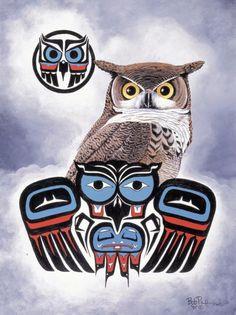 Next tattoo..... I am an Owl in the Native American zodiac