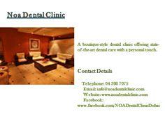 Best Dentist, Dentist In, A Boutique, Clinic, Dental, Dubai, Teeth, Dentist Clinic, Tooth