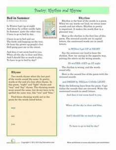 Rhyme Scheme - YouTube | Flip Teaching Videos | Pinterest ...