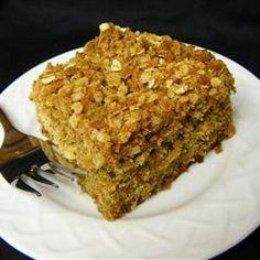 Banana Oatmeal Crumb Cake Allrecipes.com