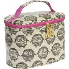 Owl make-up bag.