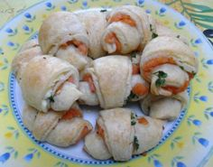 Cornetti salati salmone Philadelphia