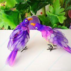 stocking flowers - Buscar con Google    Papagáj