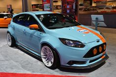 Gulf livery Focus ST from SEMA 2013