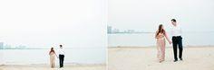 An Intimate Chicago Beachfront Maternity Session with Kelly and Jon | Photographed by Fine Art International Wedding and Lifestyle Photographer Cassandra Eldridge of Cassandra Photo