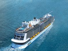 Best new cruise ships arriving in 2016. https://cruiseable.com/blog/best-new-cruise-ships-arriving-in-2016 #days2cruisemas #love2cruise Cruiseable