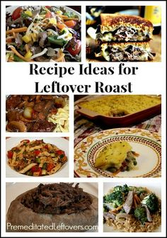 Recipes to help you use up leftover roast beef.